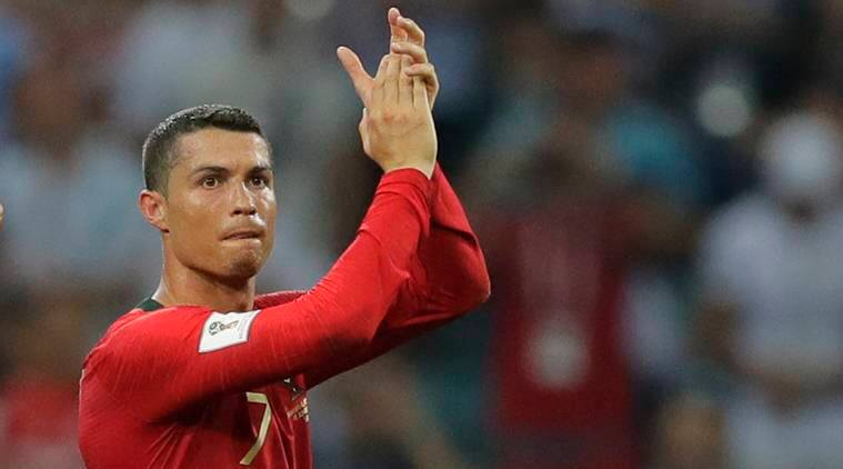 Portugals Cristiano Ronaldo Applauds After The Group B Match Between Portugal And Spain Source Ap
