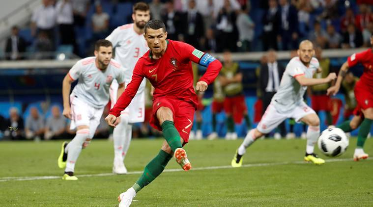 Ronaldo looms for Morocco, Spain face Iran