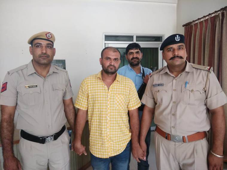 Man wanted in 13 cases arrested from Gurgaon
