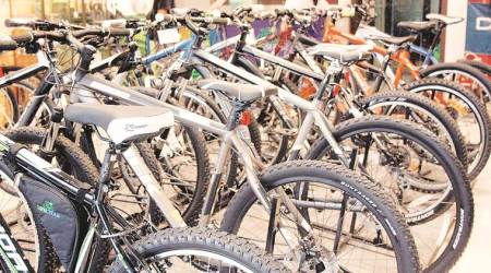 Residential society donates cycles to kin of farmers who committed suicide