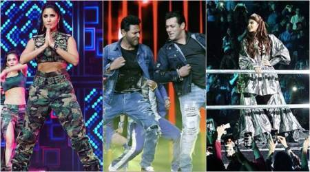 Da-Bangg Reloaded: Salman Khan, Prabhudheva, Katrina Kaif rock the stage at Chicago