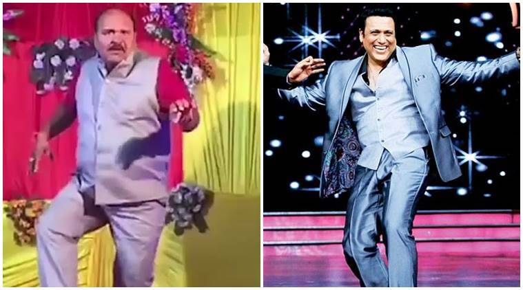 Dancing Uncle govinda