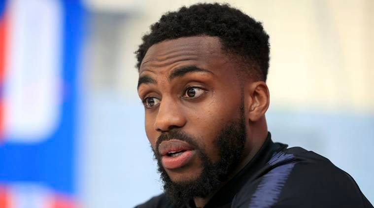 England's Danny Rose speaks during the media day at St George's Park, Burton, England