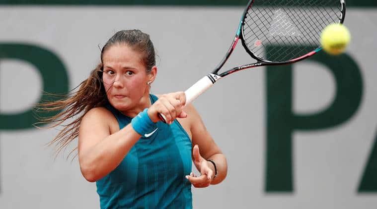 Daria Kasatkina, Daria Kasatkina news, Daria Kasatkina updates, French Open 2018, French Open 2018 news, sports news, tennis, Indian Express