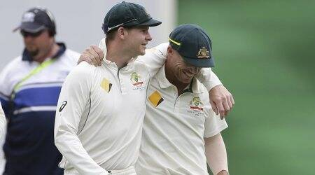 David Warner smashes ton, Steve Smith fifty on return to cricket in Australia