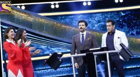 Salman Khans Dus Ka Dum: Anil Kapoor makes a joke about Sunita Kapoor and MadhuriDixit