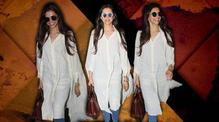 Deepika Padukones airport #stylegoals: Would you try this comfy cape shirt?