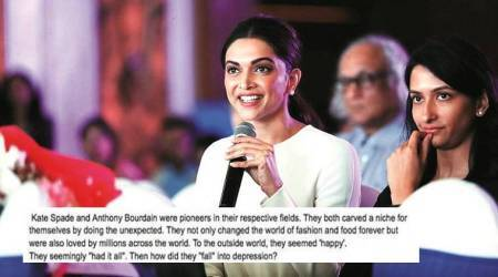 'DEPRESSION took their lives': Deepika Padukone's Live Love Laugh on Kate Spade, Anthony Bourdain's suicide