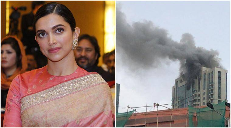 Fire breaks out at Deepika Padukone's building, the ...