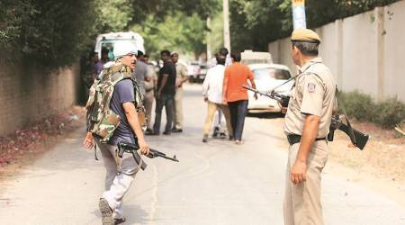 Delhi's most wanted among four killed in daylight encounter, eight policemen injured