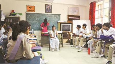Spoken English classes, and students' confidence, take off at govt schools