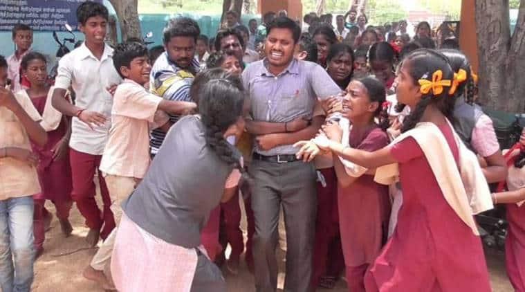 Tamil Nadu: Students protest teacher transfer, govt delays process