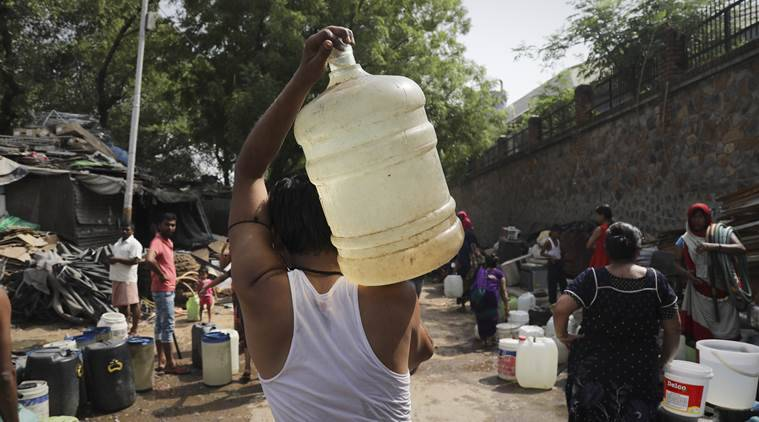 Hardlook — Water Scarcity: Dry Days in Delhi