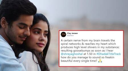 Dhadak title track: The Janhvi Kapoor-Ishaan Khatter romantic number garners praise on Twitter