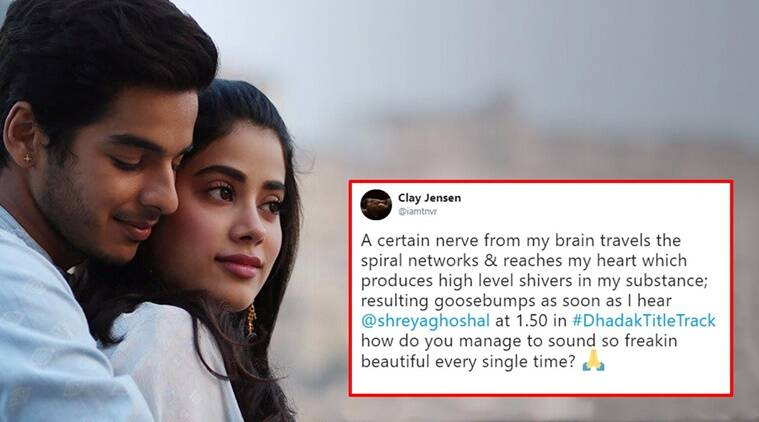 janhvi kapoor, ishaan khatter, dhadak, dhadak title track, jahnvi kapoor, jhanvi kapoor dhadak, dhadak title track, dhadak title track first reactions, dhadak title track reactions dhadak title track Twitter reactions , dhadak title track, dhadak music, dhadak movie title track release, Indian express, Indian express news