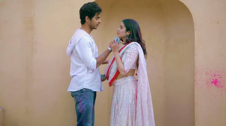 dhadak trailer photos