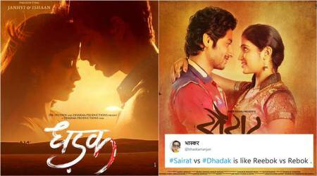 'Dhadak vs Sairat' memes take over Twitter to poke fun at the Janhvi Kapoor, Ishaan Khatter-starrer