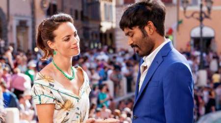 dhanush in a still from the extraordinary journey of the fakir