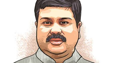 When Health Secretary Preeti Sudan tried to give a clarification, Dharmendra Pradhan said he would discuss things with her later, and not at a public function.