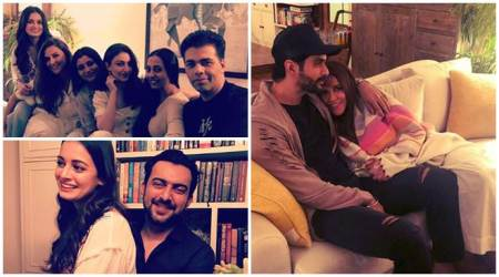 Dia Mirza hosts party for newlyweds Neha Dhupia and Angad Bedi
