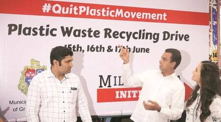 South Mumbai: MP Milind Deora launches drive to collect plasticwaste