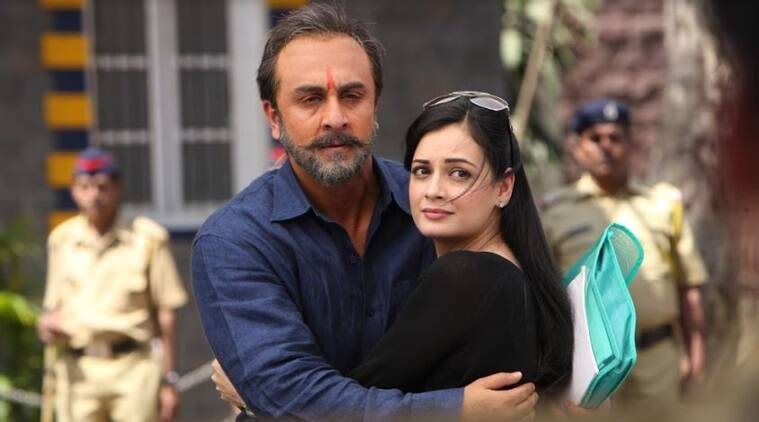 Image result for dia mirza in sanju