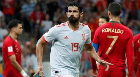 Diego Costa scored against Portugal in the World Cup