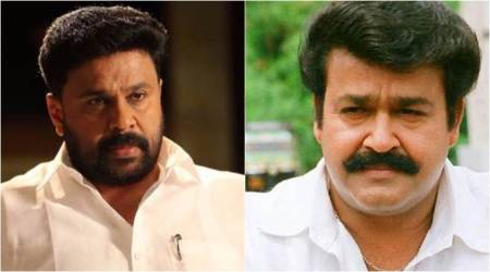 Dileep controversy: Activists protest outside Mohanlal's house
