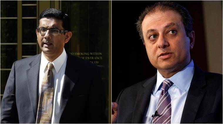 Karma is a b-tch, Dinesh D'Souza tells Preet Bharara after being granted pardon by Trump