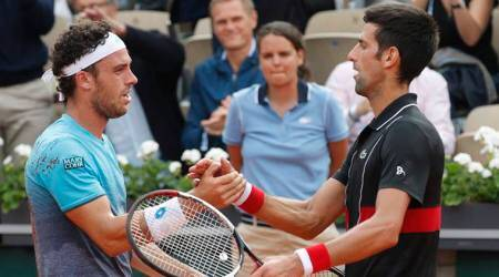 Novak Djokovic stunned by 72nd-ranked Marco Cecchinato at French Open2018