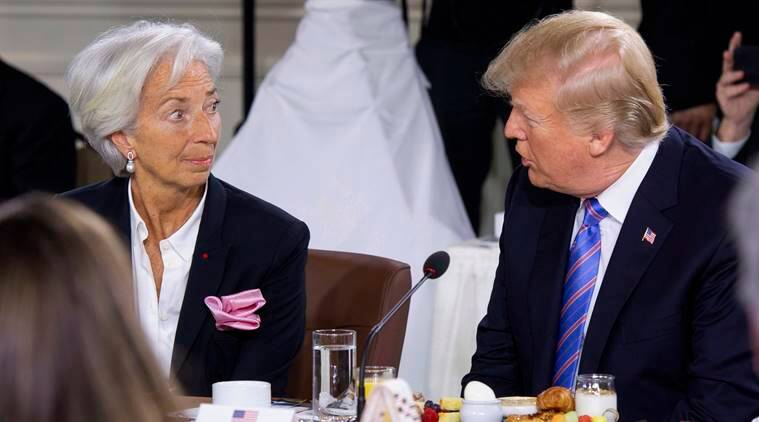 Donald Trump Turns Up Late For G7 Breakfast Gets Labelled