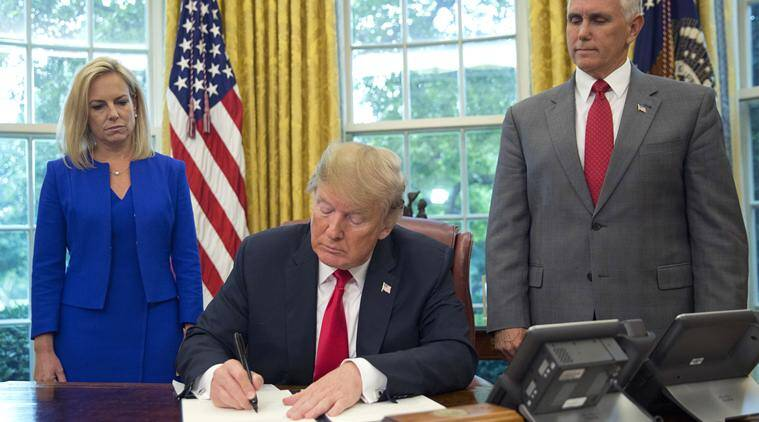 President Trump Signs Executive Order to End Family Separations