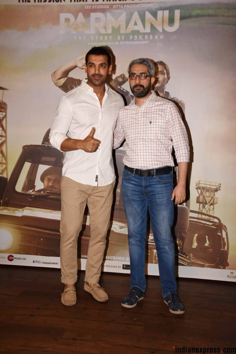john abraham parmanu success