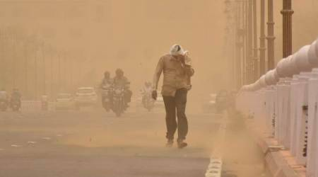 Dust storms worsen India's air as part of deadly 'newnormal'