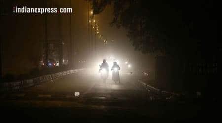 delhi air quality, delhi dust storm, western up dust storm, indian express, delhi air pollution