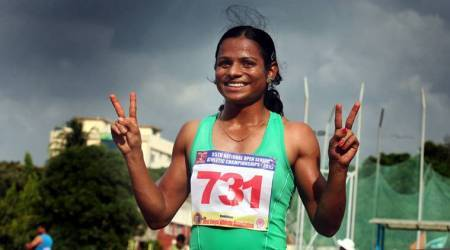 Dutee Chand scorches track, betters own national record