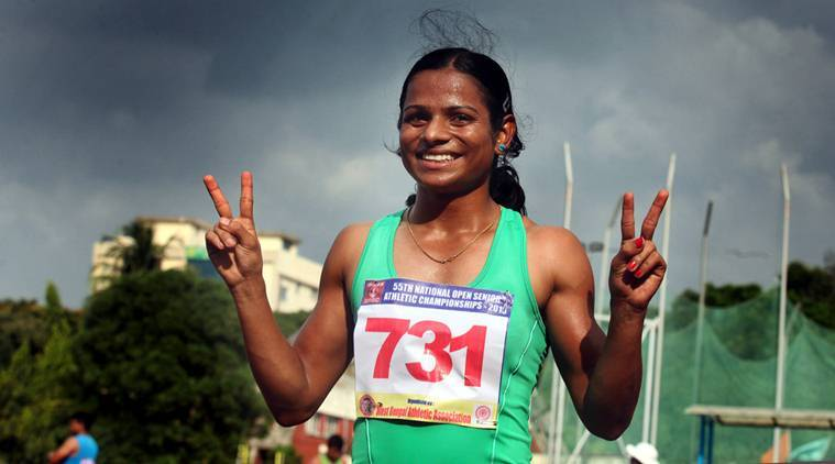 Dutee Chand, Dutee Chand news, Dutee Chand updates, Dutee Chand record, sports news, Indian Express