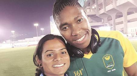 Caster Semenya and Dutee Chand