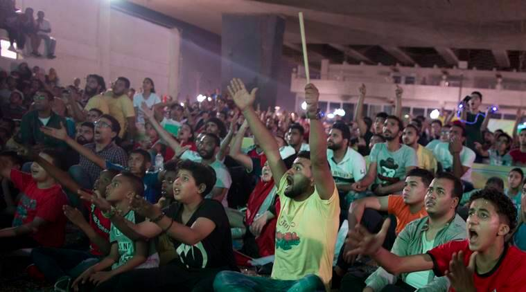 Scene in Cairo after Egypt's loss to Russia at the World Cup