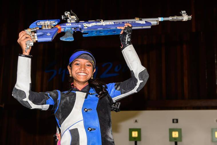 Elavenil Valarivan will participate in Women's 10m air rifle event at the ISSF World Cup 2019. (File)