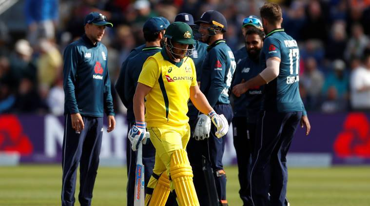 England's cricketers set one-day record against Australia