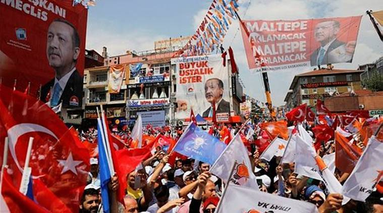 Erdogan, ruling AK Party build comfortable lead in Turkish elections