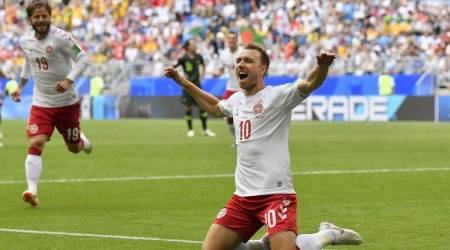 FIFA World Cup 2018 Live Streaming Denmark vs Australia Live Score: Denmark 1-1 Australia at half-time