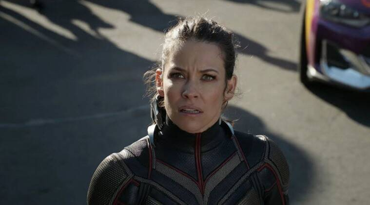 antman and the wasp actress evangeline lilly on male marvel actors complaining about their superhero outfits
