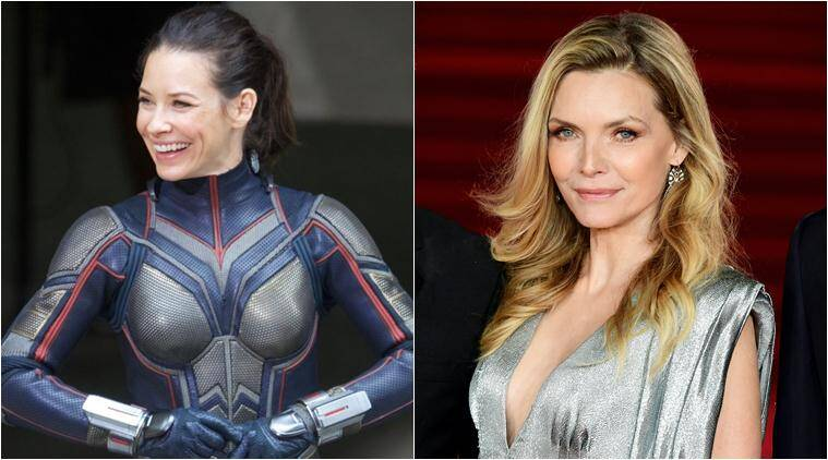 ant man and the wasp actor evangeline lily says michelle pfeiffer is the most beautiful woman