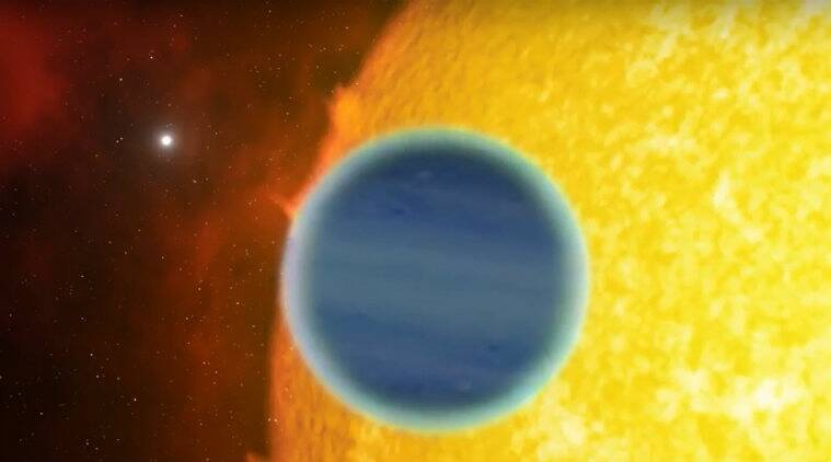 Exoplanet with water, exoplanet discovery, University of Cambridge, gaseous planet, Instituto de Astrofisica de Canarias, alkali metals, solar radiations, atmospheric composition