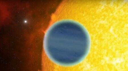 Traces of water, metal found in uniqueexoplanet