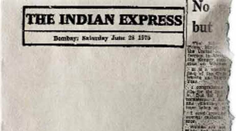 emergency, emergency anniversary, 43 years of emergency, emergency 43rd anniversary, emergency 1975, Indira Gandhi, Indian Express