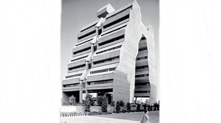 Delhi's National Cooperative Development Corporation, pyjama building, ncdc, ncdc building structure, indian express, indian express news