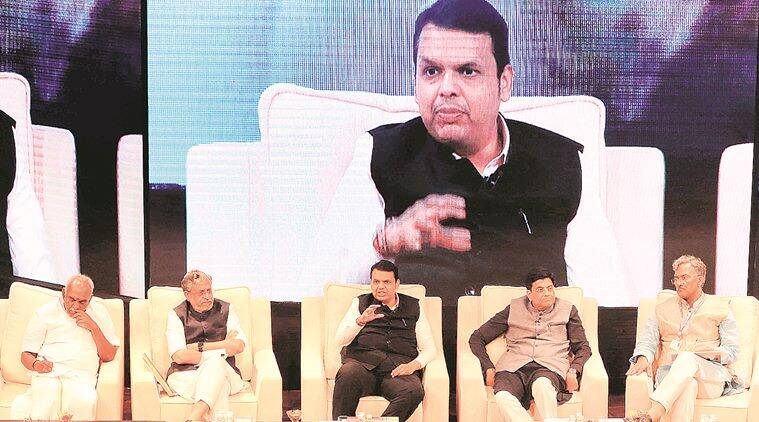fadnavis, maharshtra chief minister, maharashtra bjp, Prashant Thakur, maharashtra corporation, small scale development corporation, indian express
